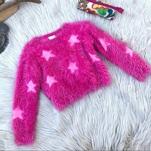 ☽ Girl's Fun + Fuzzy Sweater ☽